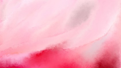 Light Pink Aquarelle Background Image
