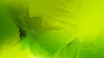 Lime Green Watercolor Background Image