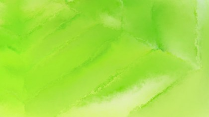 Lime Green Grunge Watercolour Texture Background