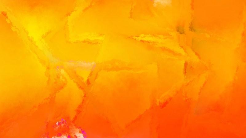 Orange Grunge Watercolor Background