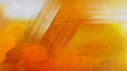 Orange and Grey Distressed Watercolour Background