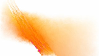 Orange and White Grunge Watercolor Background Image