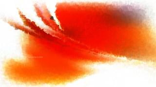 Orange and White Grunge Watercolour Background Image