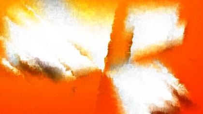 Orange and White Watercolour Texture