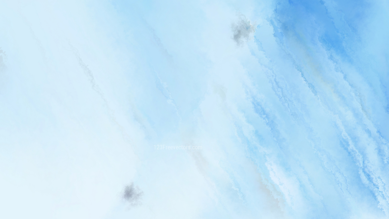 Pastel Blue Distressed Watercolour Background Image
