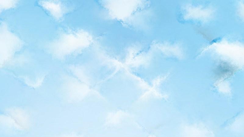 Pastel Blue Grunge Watercolour Background Image