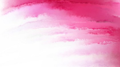 Pink and White Grunge Watercolor Texture
