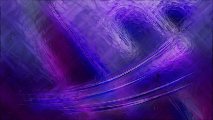 Abstract Purple and Black Glass Effect Paint Background