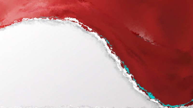 Red Watercolour Background Image