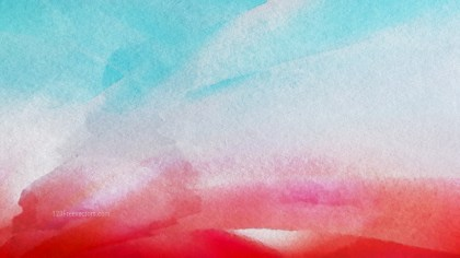 Red and Blue Distressed Watercolour Background