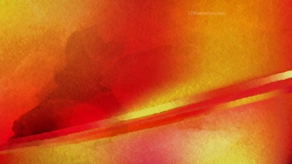 Red and Orange Aquarelle Background Image