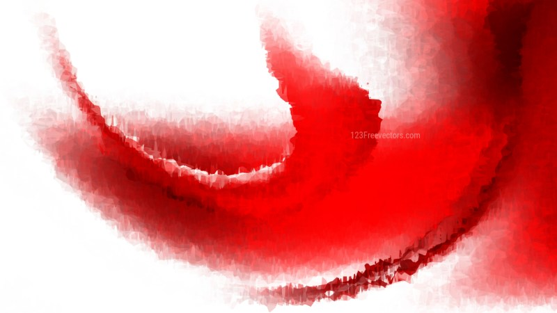 Red and White Aquarelle Texture