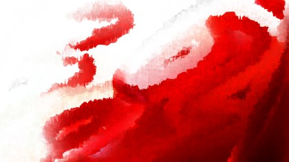 Red and White Grunge Watercolor Background Image