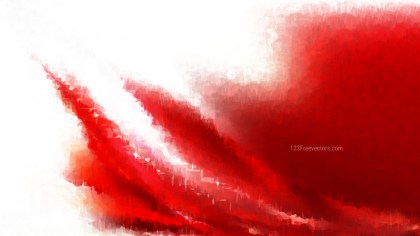 Red and White Grunge Watercolor Texture