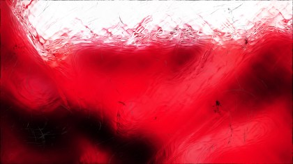 Abstract Red Black and White Glass Effect Paint Background