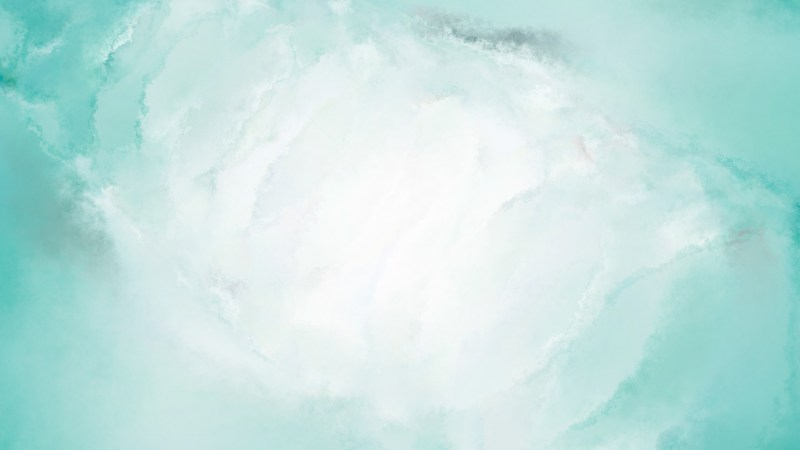 Turquoise and White Distressed Watercolor Background Image