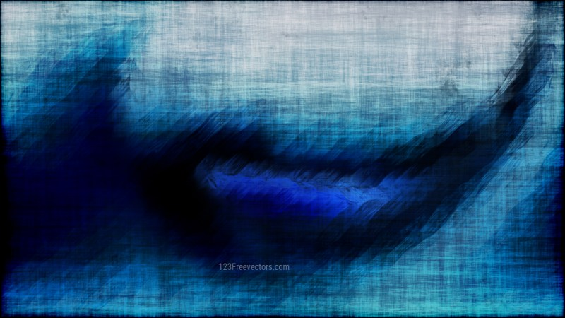 Abstract Black and Blue Grunge Texture Background