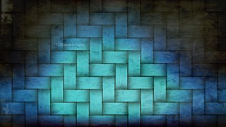 Black and Turquoise Grunge Texture Background Image