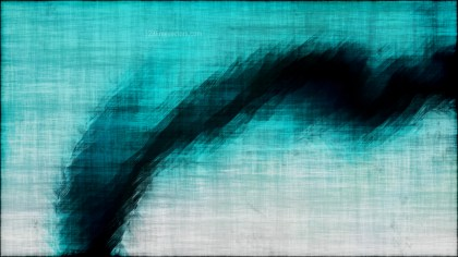 Abstract Black and Turquoise Texture Background