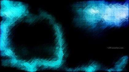 Abstract Black and Turquoise Grunge Texture Background Image