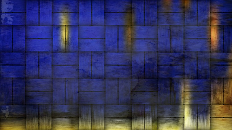 Blue and Gold Dirty Grunge Texture Background