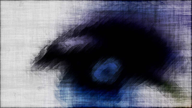 Abstract Blue Black and White Texture Background