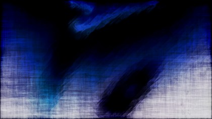 Abstract Blue Black and White Grunge Background Image