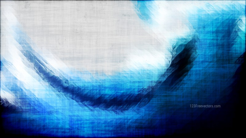 Abstract Blue Black and White Grunge Texture Background