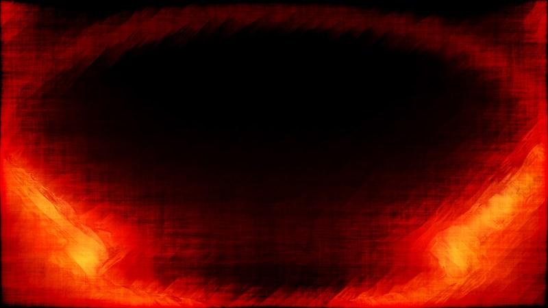 Abstract Cool Orange Grunge Background
