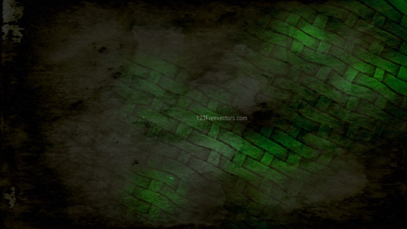 Green and Black Grunge Texture Background Image