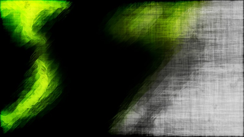 Abstract Green and Black Textured Background
