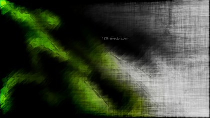 Abstract Green and Black Grunge Texture Background