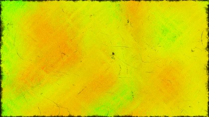 Green and Yellow Grunge Texture Background