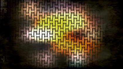 Orange and Black Dirty Grunge Texture Background