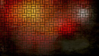 Orange and Black Grunge Background