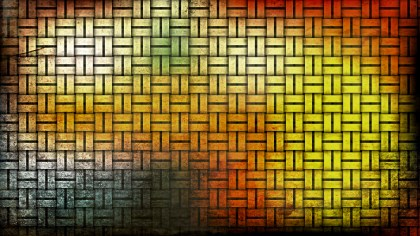 Orange and Black Grunge Background Texture