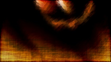 Abstract Orange and Black Grunge Background Texture