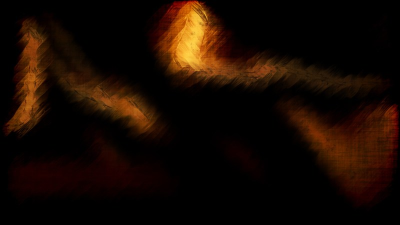 Abstract Orange and Black Background Texture