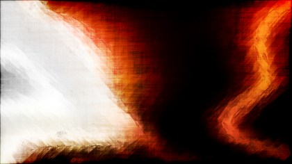 Abstract Orange Black and White Textured Background Image