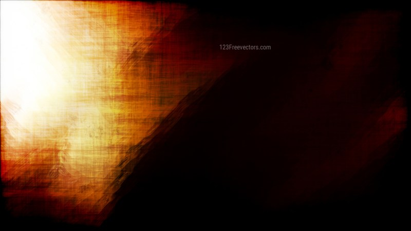 Abstract Orange Black and White Grunge Texture Background Image