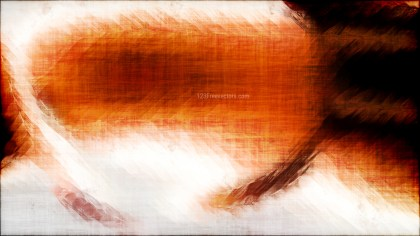 Abstract Orange Black and White Texture Background