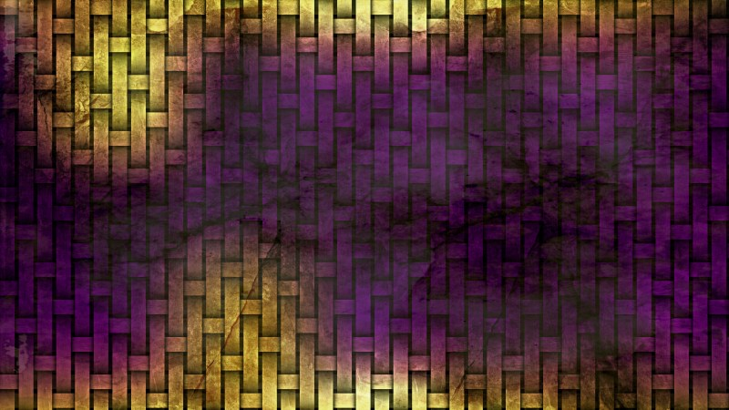 Purple and Gold Grunge Texture Background
