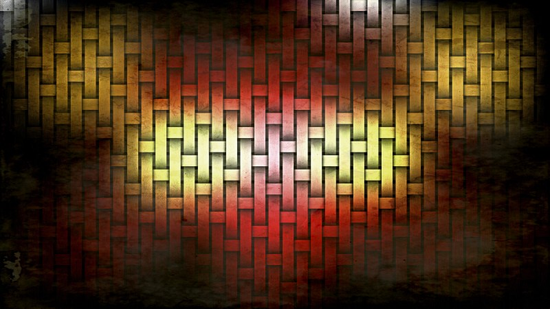 Red and Gold Grunge Background Texture