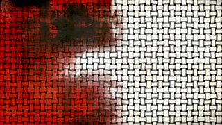 Red Black and White Grunge Texture Background Image