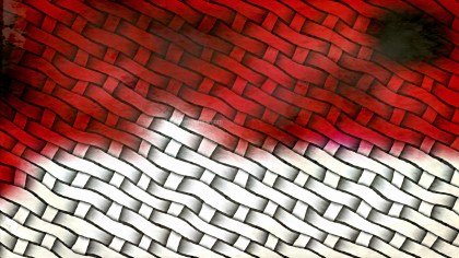 Red Black and White Background Texture