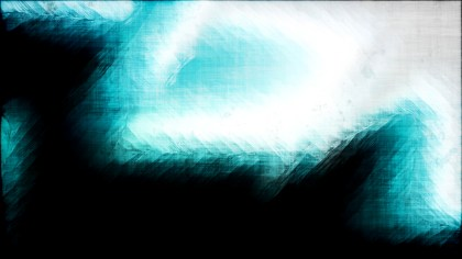 Abstract Turquoise Black and White Grunge Texture Background