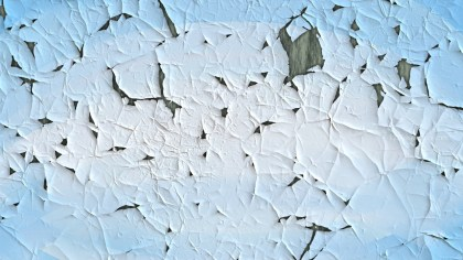 Baby Blue cracked Paint Texture Background