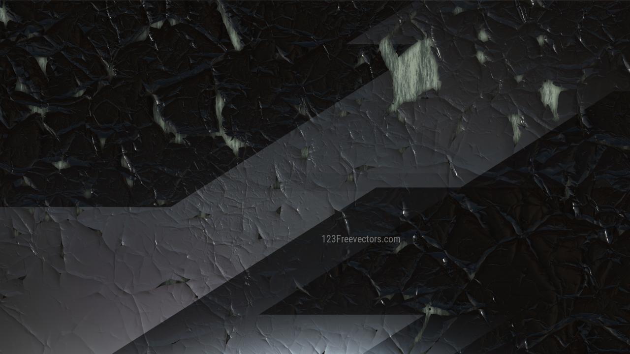 Black Grunge Cracked Background