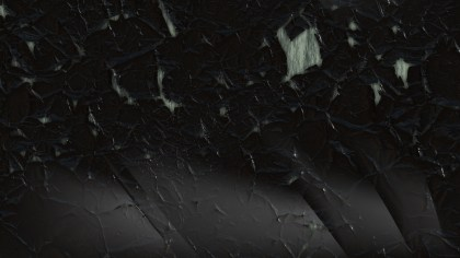Black Grunge Cracked Wall Background