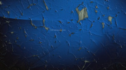 Black and Blue Cracked Peeling Paint Background